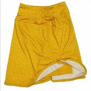 Nike Skirts - Nike Printed Golf Skirt Skort Yellow UPF XS